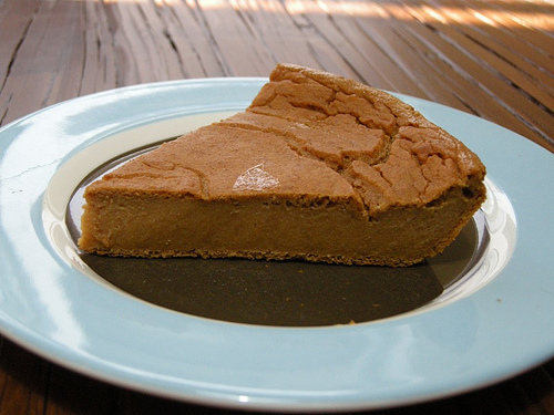 fat-free pumpkin pie vegan