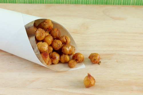 "Picture of Honey Roasted ""Nuts"" (Chickpeas)"