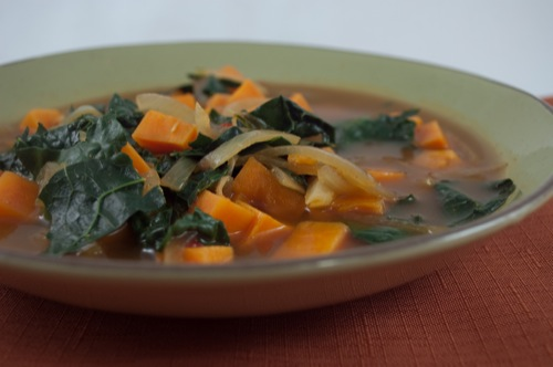 Picture of African Kale & Yam Soup