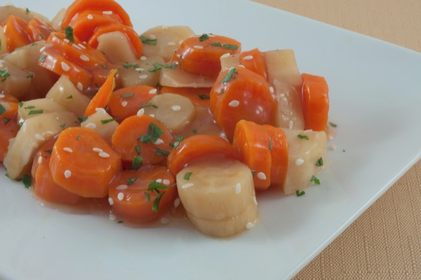 Picture of Maple-Glazed Vegetables