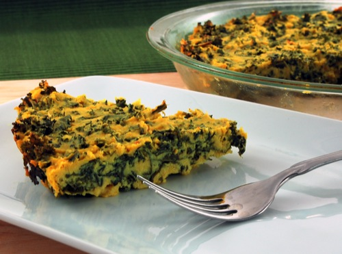Picture of Greens Quiche