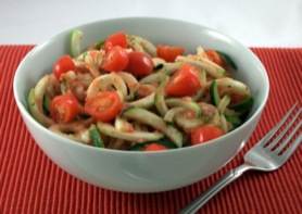 Picture of Raw Pasta with Marinara