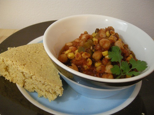 Picture of Chickpea and Corn Chili