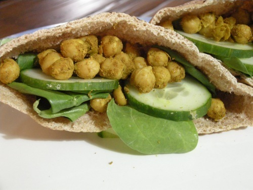 photo of Curried Chickpea Sandwich