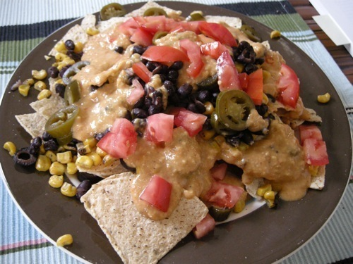 Picture of Low Fat Vegan Nacho Cheese