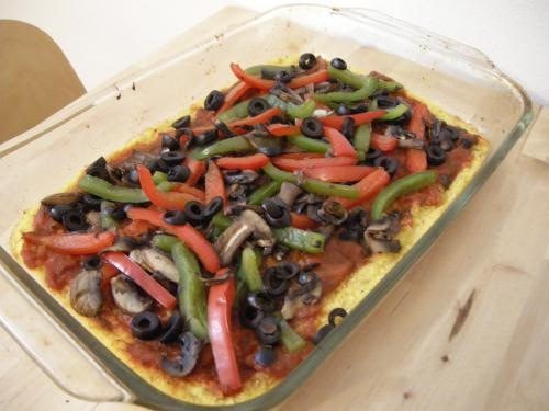 Picture of Polenta Pizza