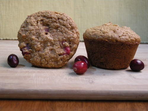 photo of Sweet Potato & Cranberry Muffins