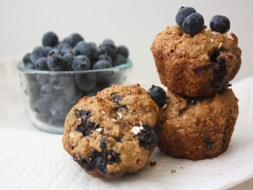 Picture of Blueberry Oatmeal Muffins