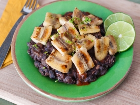 Picture of Black Beans & Plantains
