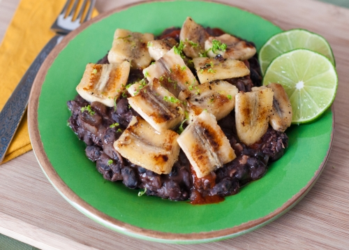 photo of Black Beans & Plantains
