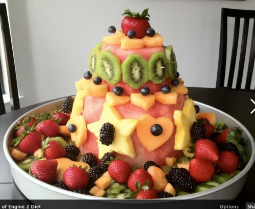 Our Friends At Engine 2 Had A Fruit Cake Contest Last Year And Here Were Some Of The Great Entries To Give You Ideas Arent These Cakes Beautiful