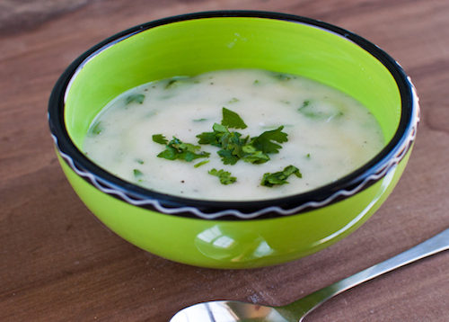"Picture of Cilantro ""Yogurt"" Sauce"