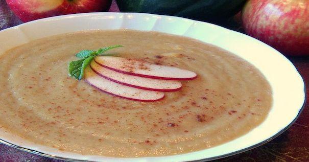 Picture of Acorn Squash & Apple Soup