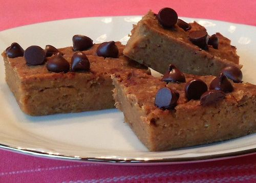 photo of Low Fat Pumpkin Bean Bars