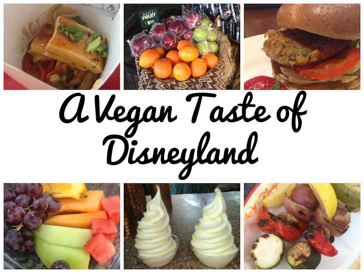 Healthy Disneyland Food Choices