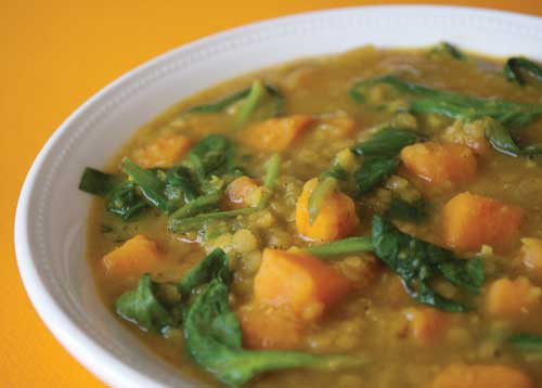 photo of Sweet Potato Dal