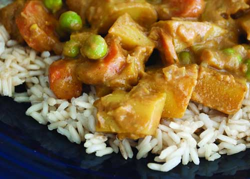 Picture of Vegetable Korma