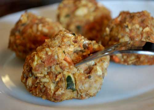 Picture of Veggie, Bean, & Quinoa Croquettes