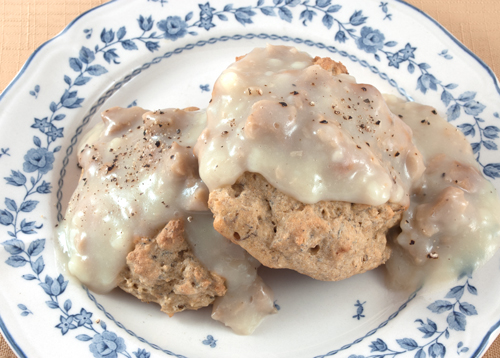 photo of Whole-Wheat Drop Biscuits