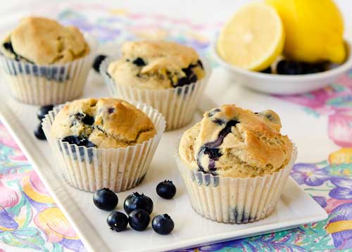 Picture of Blueberry Yogurt Muffins
