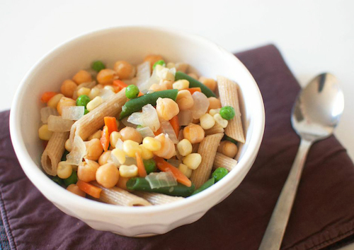 Chickpea-Vegetable Pot Pie Recipe — Dishmaps