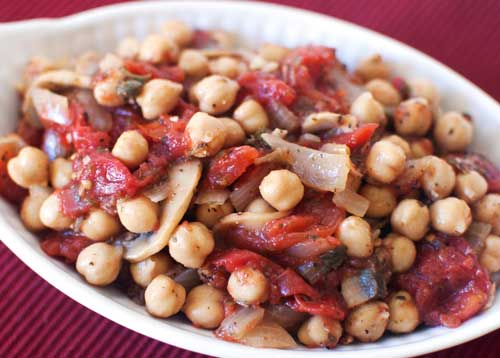 photo of Chickpea Cacciatore