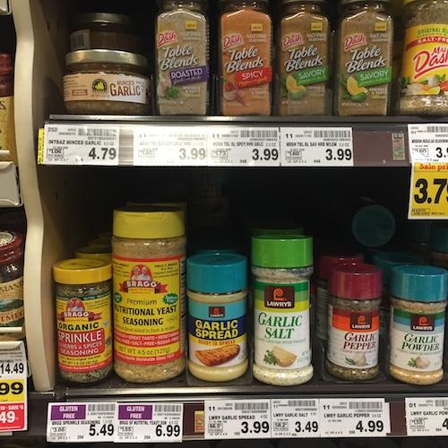 Nutritional Yeast Whole Foods Aisle