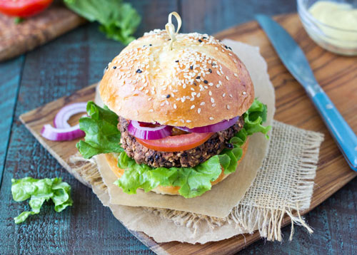 Picture of Black Bean Burgers