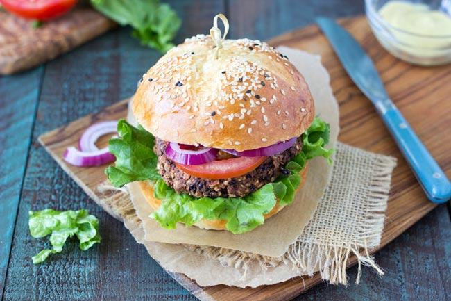 Easy Vegan Black Bean Burgers 6 Ingredients 15 Minutes,Succulent Plants Drawing