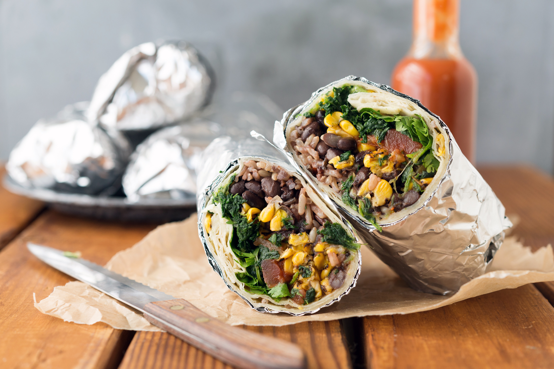 Picture of Freezer Bean & Rice Burritos