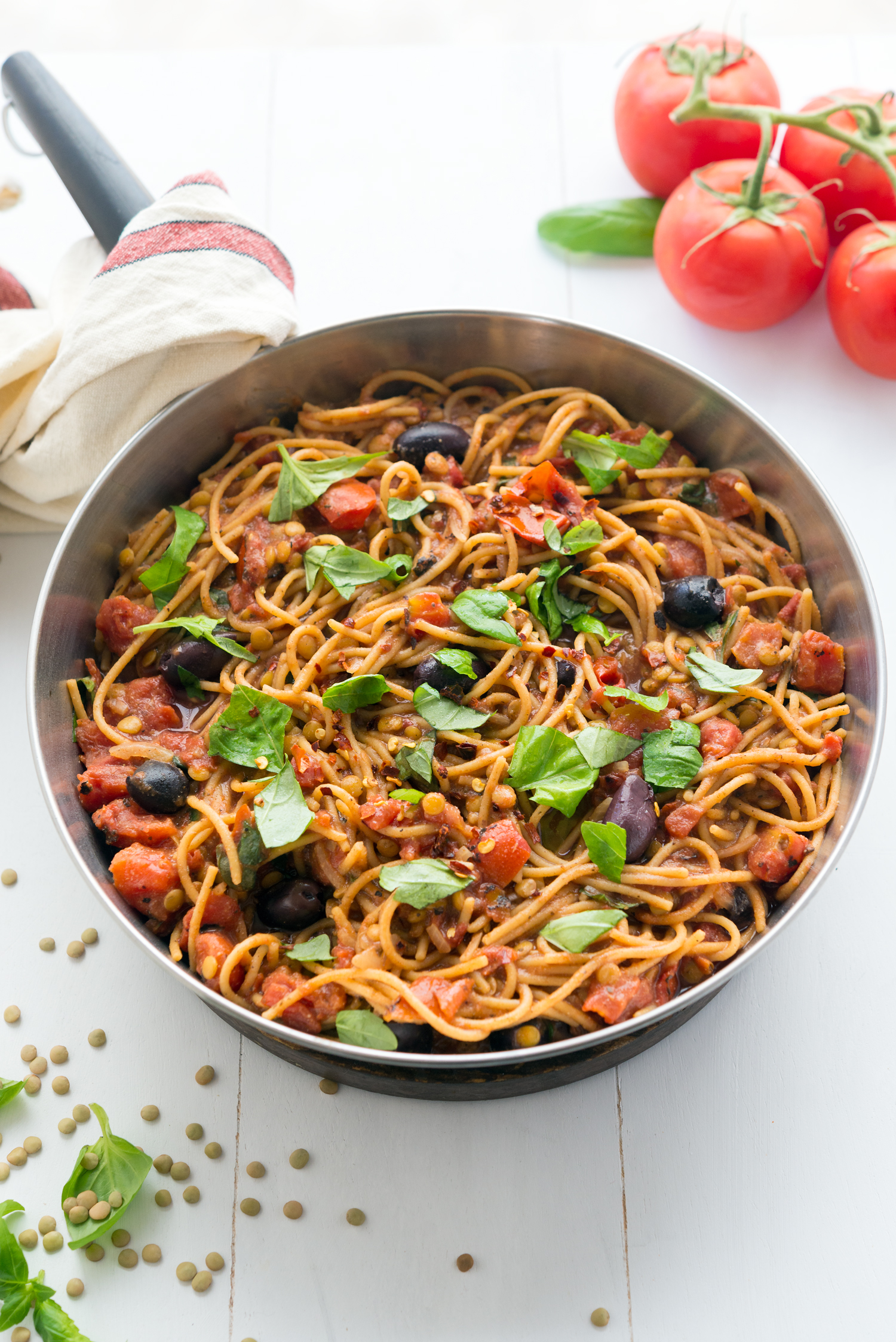 photo of Skillet Spaghetti