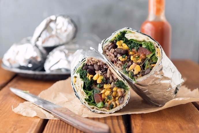 Vegan Freezer Burritos