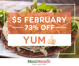 $5 February - 73% off - Yum