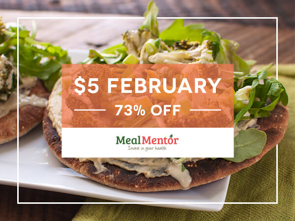 $5 February - 73% off - Meal Mentor