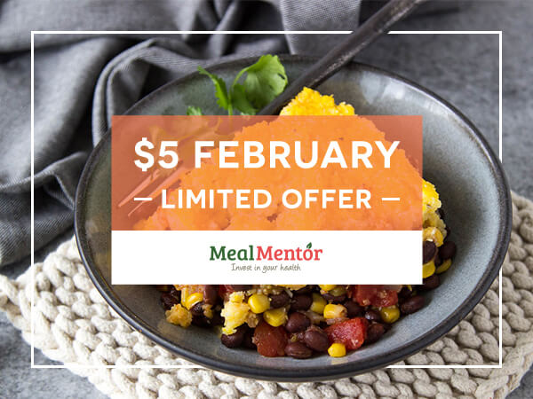 $5 February - Limited Offer - Meal Mentor