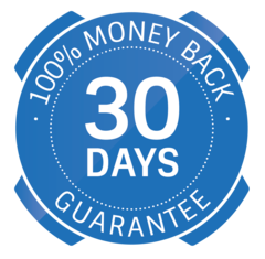 Badge - 100% Money back guarantee for 30 days