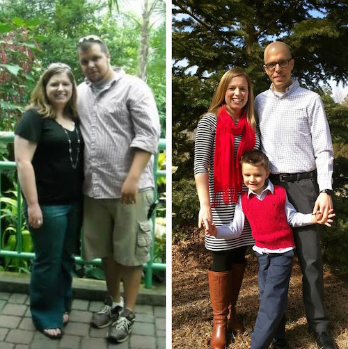 Adam's family vegan before and after