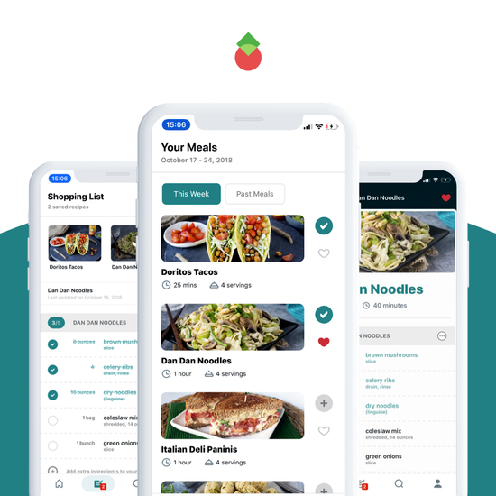 Meal Mentor Mobile App preview