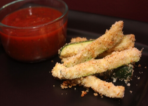 photo of Breaded Zucchini Sticks