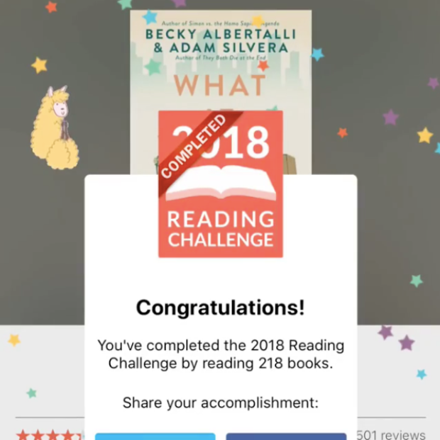 218 books in 2018 challenge complete! + a confession (and how I read so many books without breaking the bank)