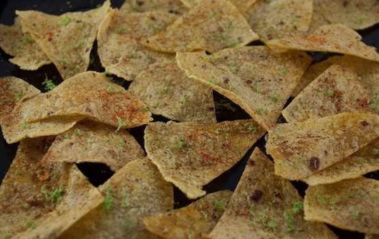 How to make baked corn tortilla chips